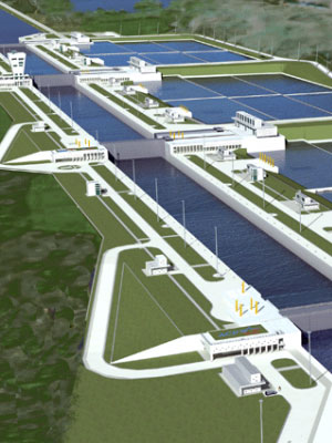 Panama Canal and the New Locks Expansion