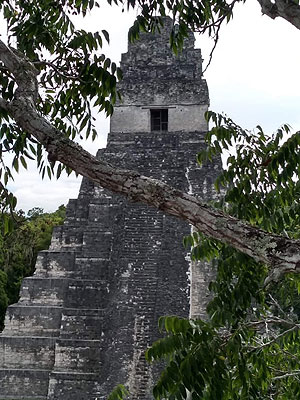 Guatemala travel tour - Tikal Archaeological Site